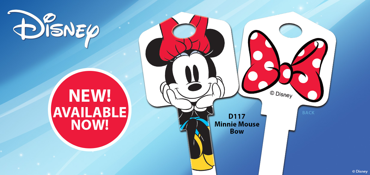 New Disney Minnie Mouse House Key Available Now!