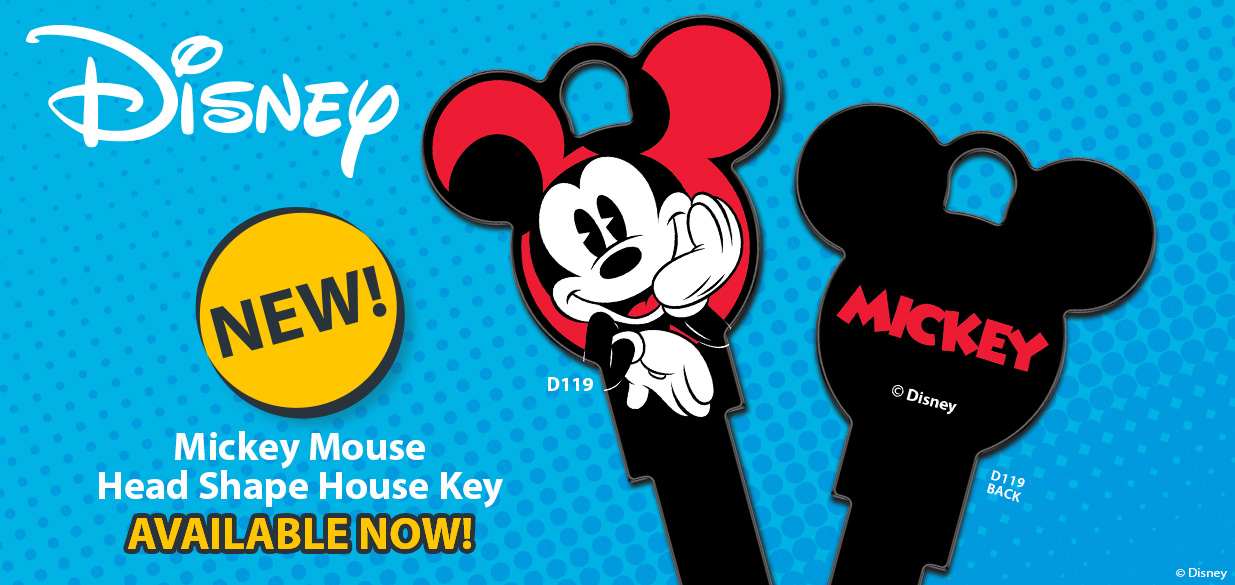 Shop our New Disney Mickey Mouse Head Shape House Key!