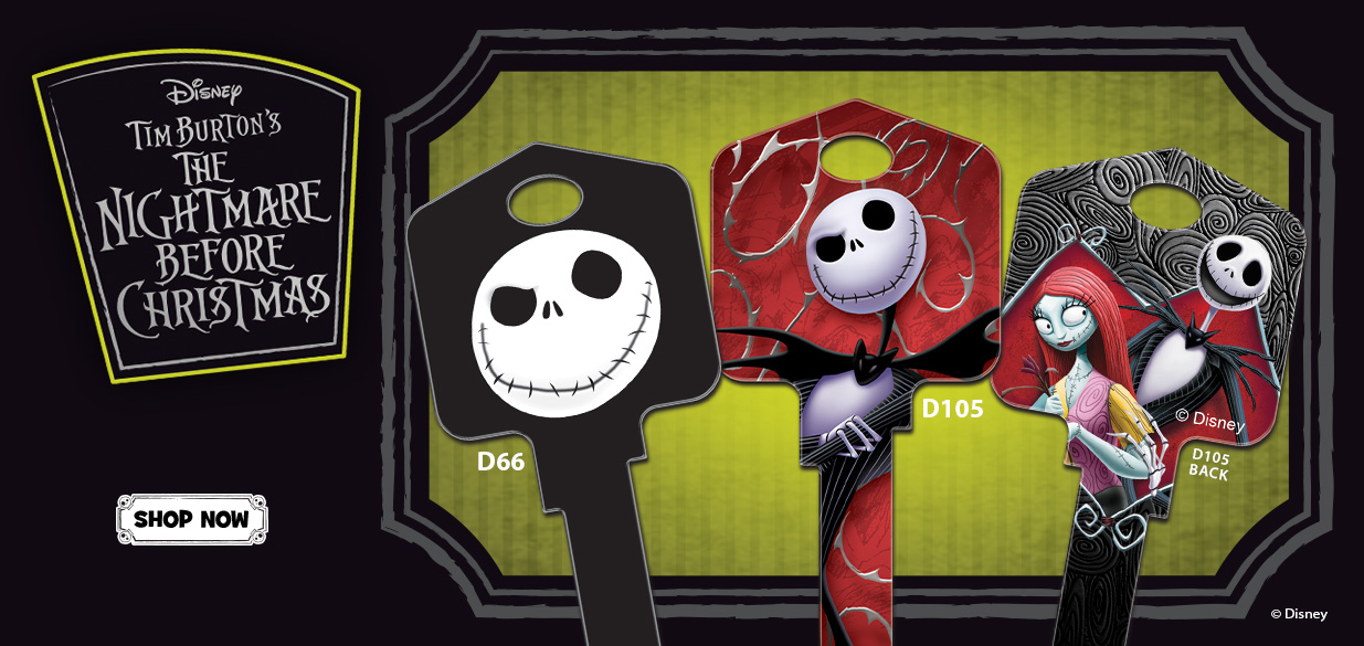 Nightmare Before Christmas House Keys