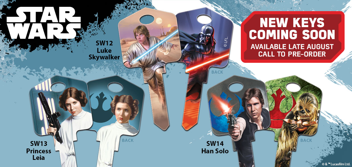 New Star Wars House Keys Coming Soon