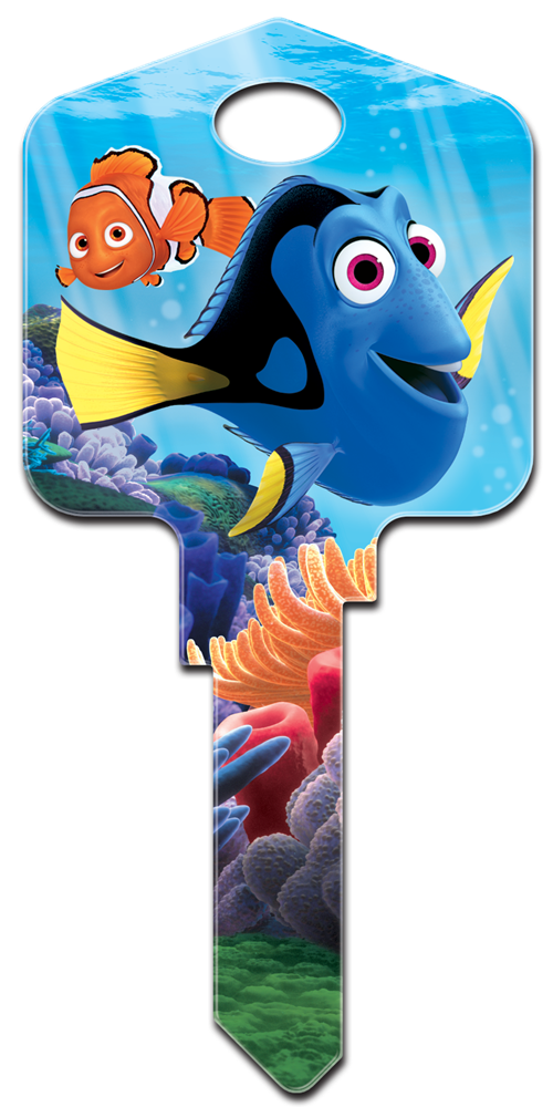 My Ford Credit >> Finding Dory licensed house key blanks