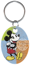 KC-D62 - Mickey Mouse 1928 Disney, Mickey Mouse 1928, key chain