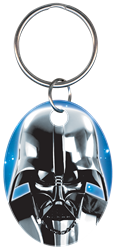 KC-SW1 - Darth Vader Star Wars,darth,vader,star,wars,licensed,official,force,awakens,empire,strikes,back,key,keys,art, Darth Vader, key chain, metallic ink