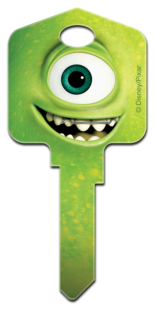 My Ford Credit >> Disney Pixar 'Monsters University' Mike and Sulley Large headed licensed painted house key blank