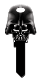 SW7 -  Darth Vader Dark Side Star Wars, Darth Vader, Dark Side, Shaped, Licensed ,Painted, House Key Blank