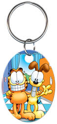 KC-G3 - Garfield & Odie Garfield,odie, key chain