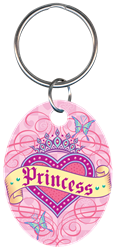 KC-PG4 - Princess Pampered Girls,pampered,girls,key,keychain,key chain, princess, key chain