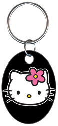 KC-SR2 - Hello Kitty Black Hello,kitty,black,keychain,key chain,key,keys,kw,sc1,wr, Kitty, black, key chain