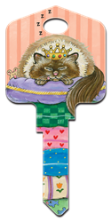 GP3 - Spoiled Rotten Paws and Claws, Gary Patterson, spoiled rotten, house key blanks, licensed, painted,licensed,art,key,keys,housekey,house key,house keys,