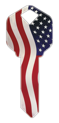 HK1 - Stars N Stripes happy, key, stars, stripes, america, american, flag, patriotic, house, key, kw, sc1, wr5