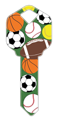 HK17 - Sports happy, key, sports, sport, tennis, soccer, basketball, baseball, football, ball, balls, house, keys, kw, sc1, wr5