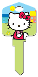 SR5 - Hello Kitty Green Hello Kitty, Hello Kitty Designer House Keys, Special House Keys, Hello Kitty Pink, Hello Kitty Black, Hello Kitty Red, Hello Kitty Blue, Hello Kitty Green, Hello Kitty Paint, Hello Kitty Springtime, Hello Kittys House, Hello Kitty Rain or Shine, Hello Kitty Glitter Key