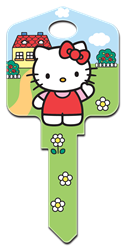 SR6 - Hello Kittys House Hello Kitty, house key,key,keys,house keys,license,licensed,art,wr,kw,sc1