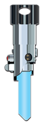 SW20 -  Luke Skywalker Lightsaber Shape Star Wars, Luke Skywalker, Lightsaber, Shaped, Licensed ,Painted, House Key Blank