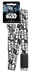 SWL2 - Star Wars Logo Star Wars,star,wars,break,away,lanyard,force,empire,strikes,back,galaxy,gift,art,official,licensed,license, Star Wars logo breakaway lanyard