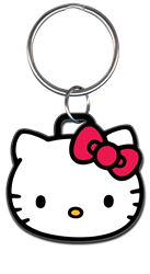 KC-SR11 Hello Kitty Head Shape Key Chain Hello Kitty, Head Shape, Licensed, Key Chain